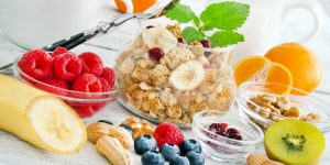 Früchte mit Kohlenhydraten in Form von Fruchtzucker