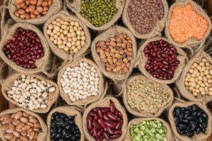 Proteine stecken in gesunder Nahrung