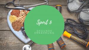 Gesund Ernährung und Sport